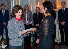 On January 26, 2017, Queen Silvia of Sweden presented scholarships awards from Queen Silvia's Jubilee Fund for Research on Children and Children's Disabilities. The award presentation took place at the Royal Palace in Stockholm.