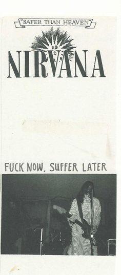 Kurt Cobain Quotes, Nirvana Kurt Cobain, Arte Punk, Band Posters, Music Stuff, Stuff Stuff, Rock Music, Punk Rock, Rock N Roll