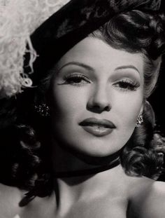 """Rita Hayworth. To be remembered fro the movie """"ghilda"""" with Glen Ford"""