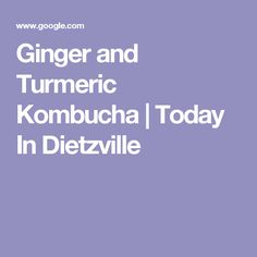 This anti-inflammatory and gut-healing Ginger and Turmeric Kombucha is an easy second ferment that adds probiotics and pain-relieving benefits to your diet! Kombucha Flavors, Kombucha Recipe, Kombucha Benefits, Kombucha How To Make, Turmeric, Home Remedies, Essential Oils, Healing, Diet