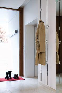 Authentics 8083322 Wardrope - Perchero colgante con ganchos cromados (300 cm de largo), color rojo: Amazon.es: Hogar