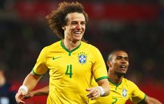 Áustria x Brasil - David Luiz (Foto: Mowa Press)18/11/2014.