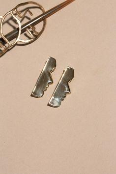 Open House Jewelry - Brass Fille Earrings