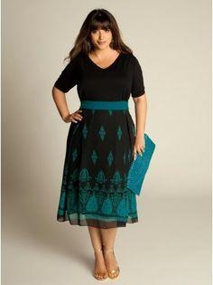 robe de soirée, grande taille, accessoire, tendance, vintage
