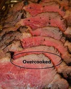 After yrs of making great Prime Rib . This way takes it from great to perfect ! Secrets Of Cooking Beef Prime Rib Roast, Strip Loin Roast, Tenderloin, Round, and Rump Roast Cooking Tips, Cooking Beef, Cooking Recipes, Smoker Recipes, Top Recipes, Yummy Recipes, The Science Of Cooking, Perfect Roast Beef, Carne Asada