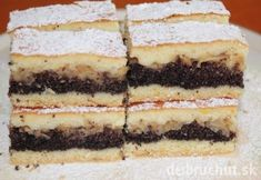 Desať skvelých dezertov, ktoré kombinujú jablká a mak Czech Recipes, Ethnic Recipes, Nutella, Tiramisu, Cake Recipes, Cheesecake, Goodies, Food And Drink, Cooking Recipes