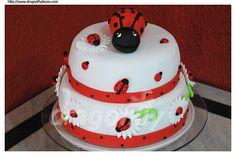 1st Birthdays, 1st Birthday Parties, Birthday Ideas, Birthday Cakes, Happy Birthday, Fondant, Bug Cake, Cake Decorating Courses, Baking Business