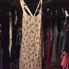 Brandy Melville Dress Bought a while back on posh and just never got around to wearing it! Would probably fit a more petite person than myself. Wish it fit ): need to find a good home for this! Any questions? Ask away! Brandy Melville Dresses