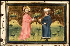 God speaks with Job  - Click photo for more images - National Library of the Netherlands