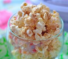 7. Cinnamon Sugar Popcorn