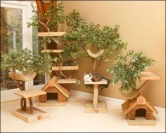 Tree Houses from Pet TreeHouse