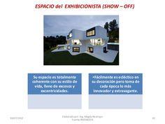 ESPACIO del EXHIBICIONISTA (SHOW – OFF)  Su espacio es totalmente coherente con su estilo de vida, lleno de excesos y exce... Desktop Screenshot, Innovative Products, Space, Lifestyle