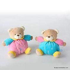 Peluche bebe oso multicolor