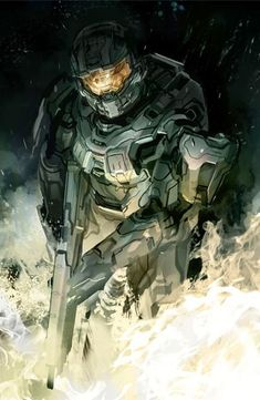 Master Chief's evolution: the concept art of 'Halo Return of Master Chief by Gabriel Garza Halo Master Chief Helmet, Master Chief Armor, Master Chief And Cortana, Halo Game, Halo 5, Game Character, Character Design, Character Concept, John 117