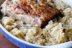 Ever Pork Roast and Sauerkraut Ring in the New Year with THE BEST Pork and Sauerkraut recipe! Juicy and packed with so much flavor! Pork Sirloin Tip Roast, Pork Roast Recipes, Pork Tenderloin Recipes, Pork Chops, Pork Roast In Oven, Pork Meals, Recipe For Mom, Mom's Recipe, Pork And Sauerkraut Recipe