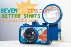 7 simple tips for better shots of your children