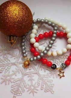 Kup mój przedmiot na #vintedpl http://www.vinted.pl/akcesoria/bizuteria/11288922-bransoletka-koraliki-charms-zestaw
