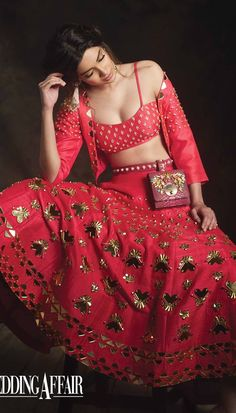 Diana Penty – Papa Don't Preach by Shubhika Indian Designer Outfits, Designer Dresses, Indian Dresses, Indian Outfits, Bridal Lehenga, Pink Lehenga, Indian Attire, Indian Wear, Creative Fashion Photography