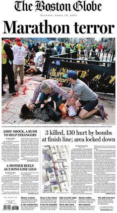 Boston Marathon Bombing - April 16th 2013