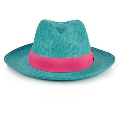 Prymal Fedora Straw Hat ($77) ❤ liked on Polyvore