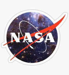 nasa space Sticker
