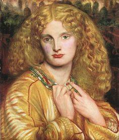 Dante Gabriel Rossetti (1828-1882) - Helena trojańska.