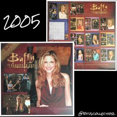 Buffy the Vampire Slayer - 2005 Calendar  #btvscollector #btvs #buffy #buffythevampireslayer