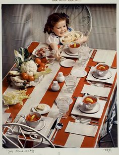 1939 - but it works!  So cute.  Love the bowls.  Photo from The George Eastman Collection, The Commons Flickr.com
