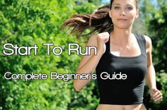 On my to-do list for September - Start To Run: The Complete Beginner's Guide