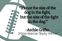Football quote to live by