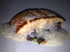 Salmon at Blu in Montclair, NJ