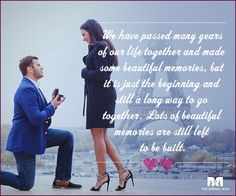 Love Proposal Quotes - It's Just The Beginning