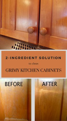 Latest free solution to clean dirty kitchen cabinets – Cleaning … – Regular Clean Kitchen Cabinets Household Cleaning Tips, Deep Cleaning Tips, House Cleaning Tips, Diy Cleaning Products, Spring Cleaning, Cleaning Hacks, Cleaning Grease, Natural Cleaning Solutions, Natural Cleaning Recipes