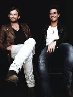 Caleb and Jared Followill // @Emily Schoenfeld Madden