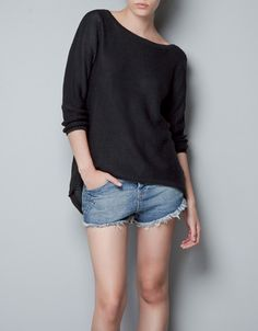 LOW BACK SWEATER - Knitwear - TRF - New collection - ZARA  39,95