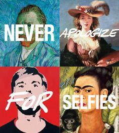 Vincent van Gogh, Madame Lebrun, Andy Warhol, and Frida Kahlo vs. The World