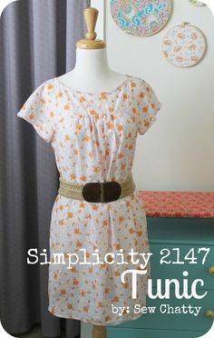 Sew Chatty: {Tunic...Pattern Review}
