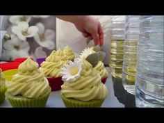 Amazon Soaps - making fresh mango cupcake soap