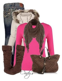 """""""Ready for the snow"""" by cindycook10 ❤ liked on Polyvore featuring Big Star, Helen McAlinden, Jane Norman, Romantic Soles and Francesco Biasia"""