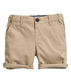 Cotton Shorts H&M Baby Boys