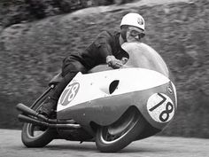 Post By Bob McIntyre(bobmcintyretribute) - TwGram. Racing Motorcycles, Isle Of Man, Road Racing, Bicycle Helmet, Grand Prix, Motorbikes, Vehicles, Bob, Antique Photos