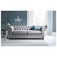 Grey Silver Sofas On Pinterest Chesterfield Sofa Grey