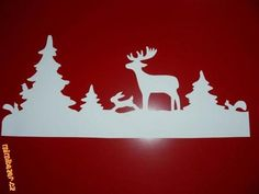 christmas window decoration paper craft - Google Search