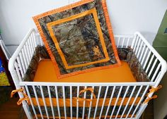 Hey, I found this really awesome Etsy listing at http://www.etsy.com/listing/167566817/4-pc-camouflage-camo-crib-beddng-set