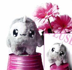 Fluse Kawaii Plush Unicorn  cute Monster Happy von Fluse123 auf Etsy, €22.00