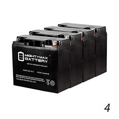 Mighty Max 12V 5AH SLA Compatible Battery for APC RBC43-6 Pack