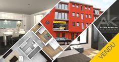 VENDU - Appartements neufs trois chambres à Ans.