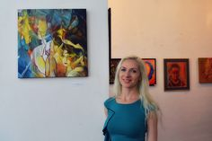 "Small Saloon Bucharest, Group art exhibition ""Head"" - by Oana Unciuleanu.  For more astonishing paintings and art novelties, visit www.oanaunciuleanu.com and subscribe to Oana Unciuleanu Art & Architecture on FB. #abstract #acrylic #art #artist #artwork #color #creative #fineart #illustration #myart #onlineart #paint #painting #paintings #wallart #watercolor #artsy #composition #amazing #beautiful #picture #cool #fun #feelingartsy #masterpiece #gallery #inspiration #newartwork #femaleartist"