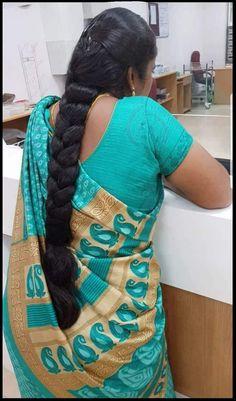 Long Hair Indian Girls, Indian Long Hair Braid, Long Hair Ponytail, Bun Hairstyles For Long Hair, Braids For Long Hair, Indian Hairstyles, Long Silky Hair, Long Black Hair, Long Hair Video