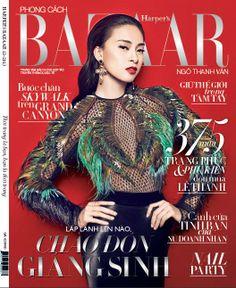 tập chí Harper's Bazaar 12/2013